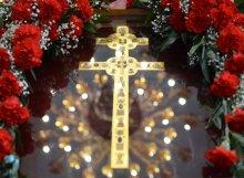 Свято-Покровский кафедральный собор, г. Гродно, копия креста преподобной Евфросиньи Полоцкой