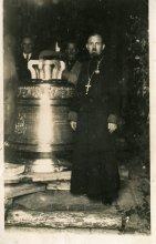 Свято-Покровский кафедральный собор Гродно, встреча колокола (1935)
