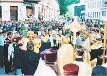 Святейший Патриарх Московский и всея Руси Алексей II , 24 июля 1995 г. Гродно