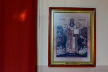 Икона с част. Мощей свт. Иннокентия (Вениаминова)
