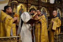 Свято-Покровский кафедральный собор, хиротония